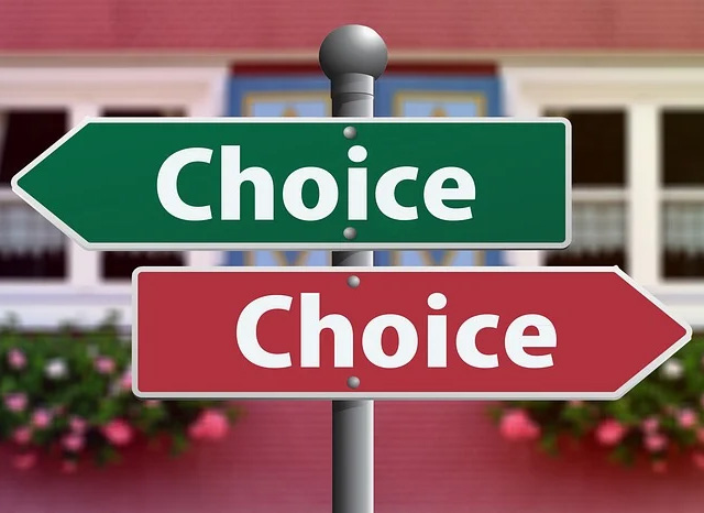 choice signs posts