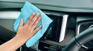 cleaning infotainment