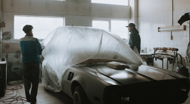 putting on car cover