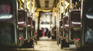 People aren't using public transport as much